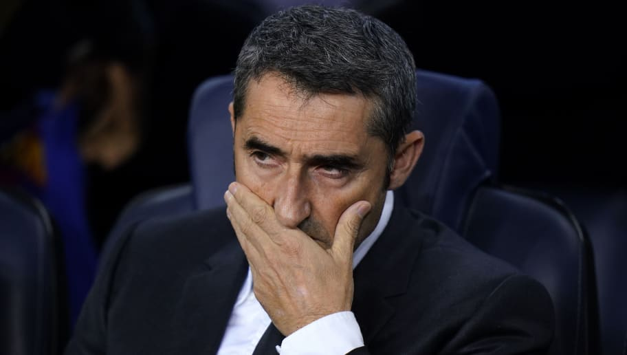Ernesto Valverde, Manager of Barcelona