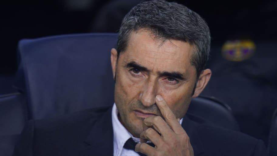 Ernesto Valverde, Manager of Barcelona