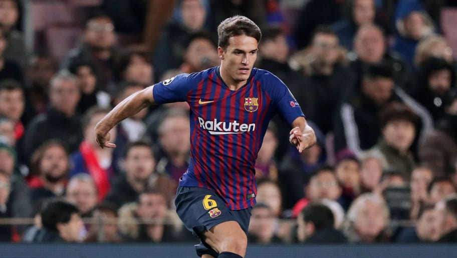 BARCELONA, SPAIN - DECEMBER 11: Denis Suarez of FC Barcelona  during the UEFA Champions League  match between FC Barcelona v Tottenham Hotspur at the Camp Nou on December 11, 2018 in Barcelona Spain (Photo by Jeroen Meuwsen/Soccrates/Getty Images)