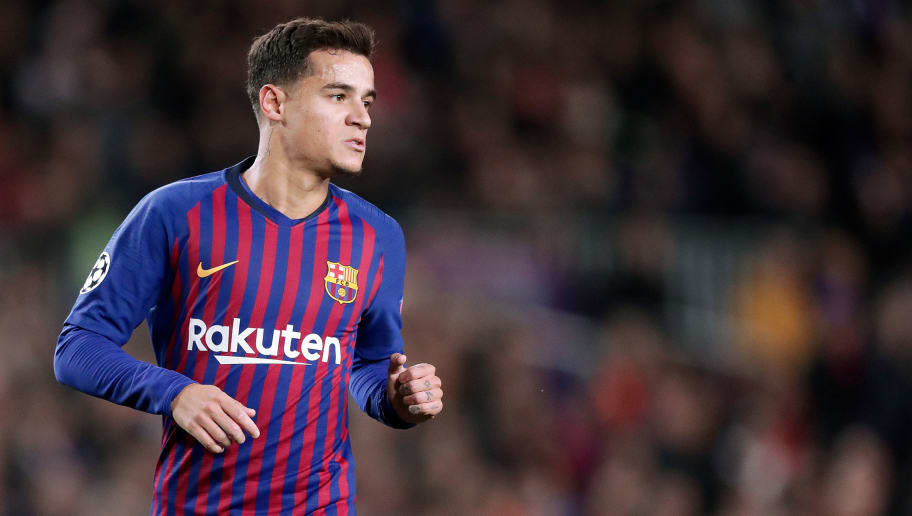 0d823c878c4 BARCELONA, SPAIN - DECEMBER 11: Philippe Coutinho of FC Barcelona during  the UEFA Champions. '
