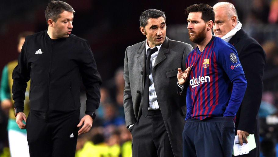 Lionel Messi Backs 'Blameless' Ernesto Valverde to Continue at Barcelona Despite Liverpool Collapse