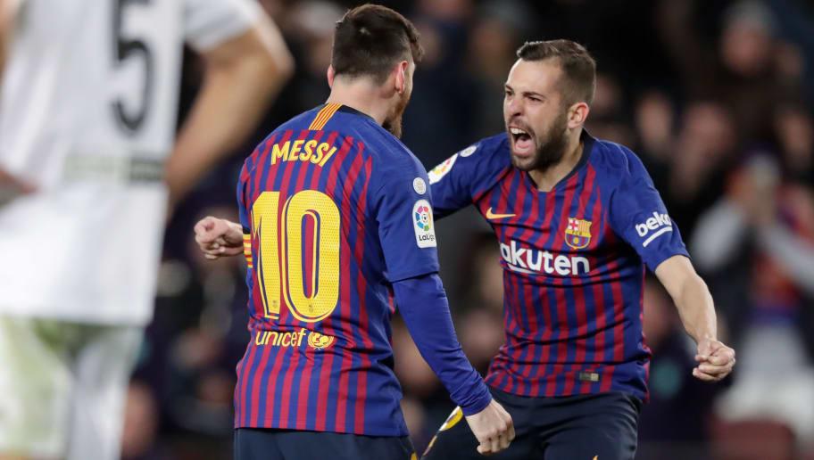 Jordi Alba,Lionel Messi