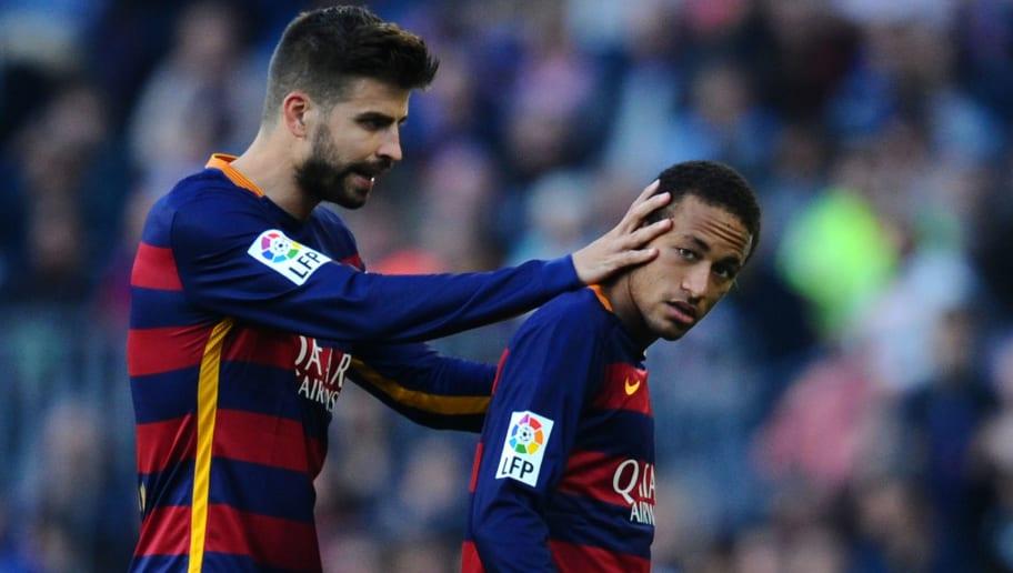 Neymar,Gerard Pique