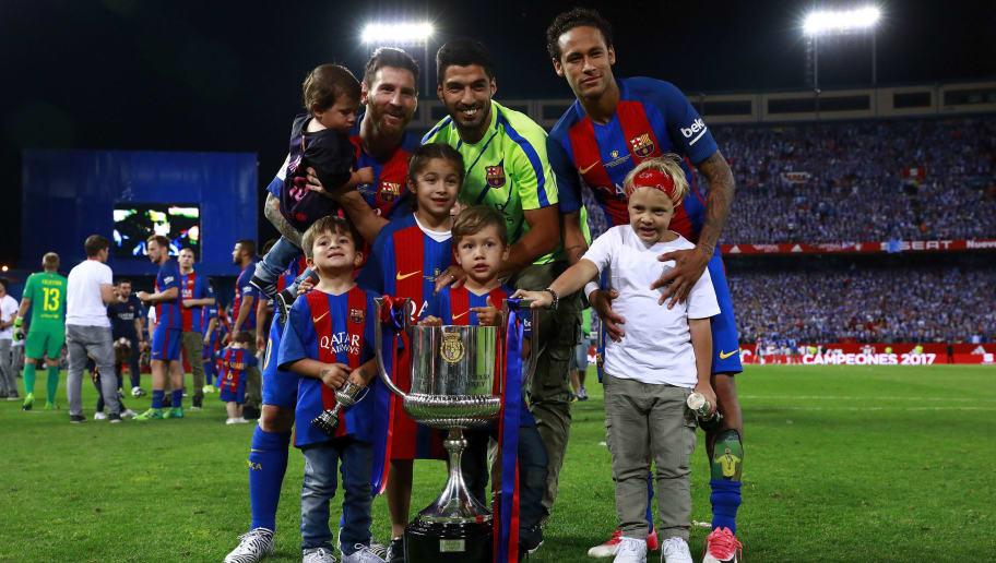 Neymar JR.,Lionel Messi,Luis Suarez