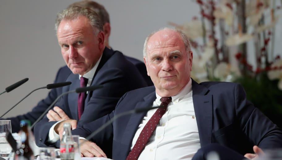 Uli Hoeness,Karl-Heinz Rummenigge