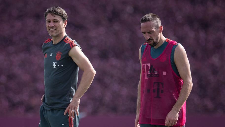 Niko Kovac,Franck Ribery