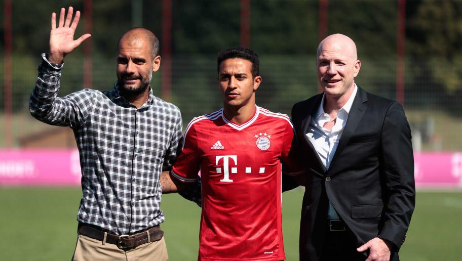 Thiago Alcantara,Pep Guardiola,Matthias Sammer