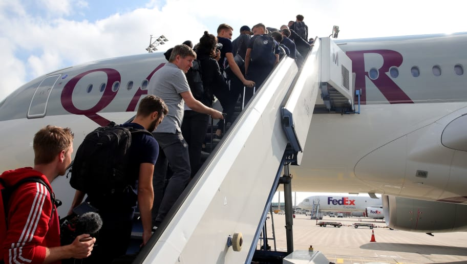 FC Bayern Muenchen Team Departs To The USA For Audi Summer Tour 2019
