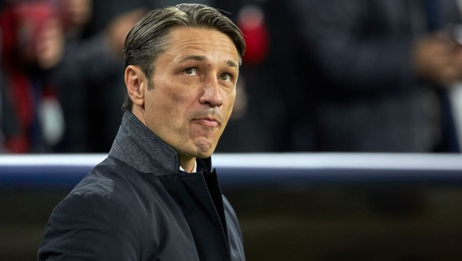 DORTMUND, GERMANY - OCTOBER 03: Head coach  Niko Kovac of Bayern Muenchen  looks on  during the Group A match of the UEFA Champions League between Borussia Dortmund and AS Monaco at Signal Iduna Park on October 3, 2018 in Dortmund, Germany. (Photo by TF-Images/TF-Images via Getty Images)