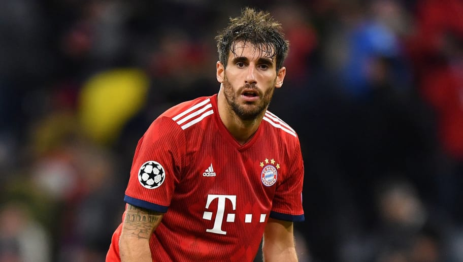 MUNICH, GERMANY - OCTOBER 02: Javier Martinez of Bayern Muenchen looks on after the Group E match of the UEFA Champions League between FC Bayern Muenchen and Ajax at Allianz Arena on October 2, 2018 in Munich, Germany. (Photo by Sebastian Widmann/Bongarts/Getty Images)