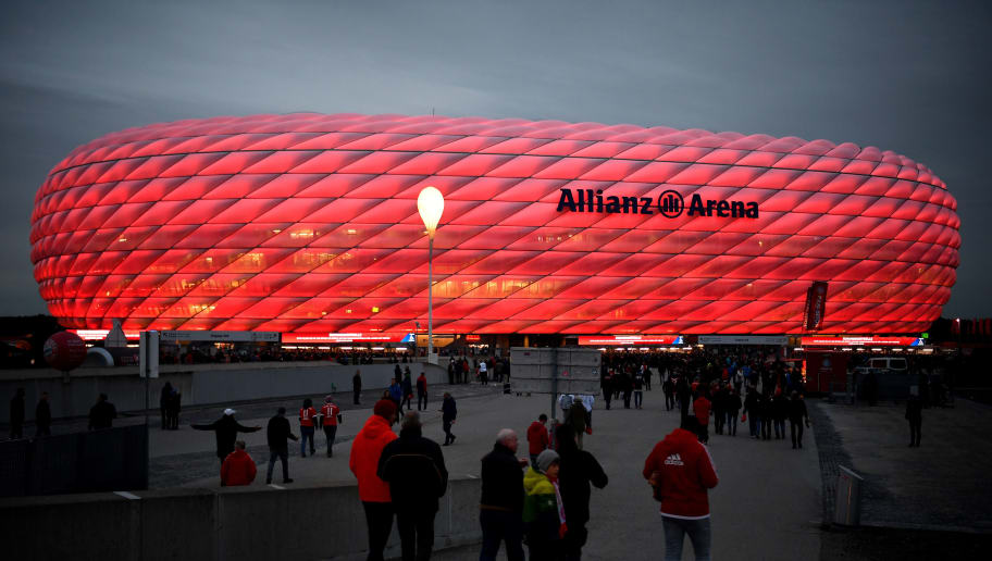 MUNICH, GERMANY - OCTOBER 02:  Fans arrive at the stadium prior to the Group E match of the UEFA Champions League between FC Bayern Muenchen and Ajax at Allianz Arena on October 2, 2018 in Munich, Germany.  (Photo by Sebastian Widmann/Bongarts/Getty Images)