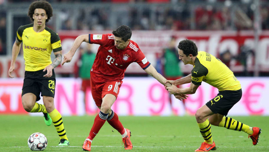 Robert Lewandowski,Thomas Delaney