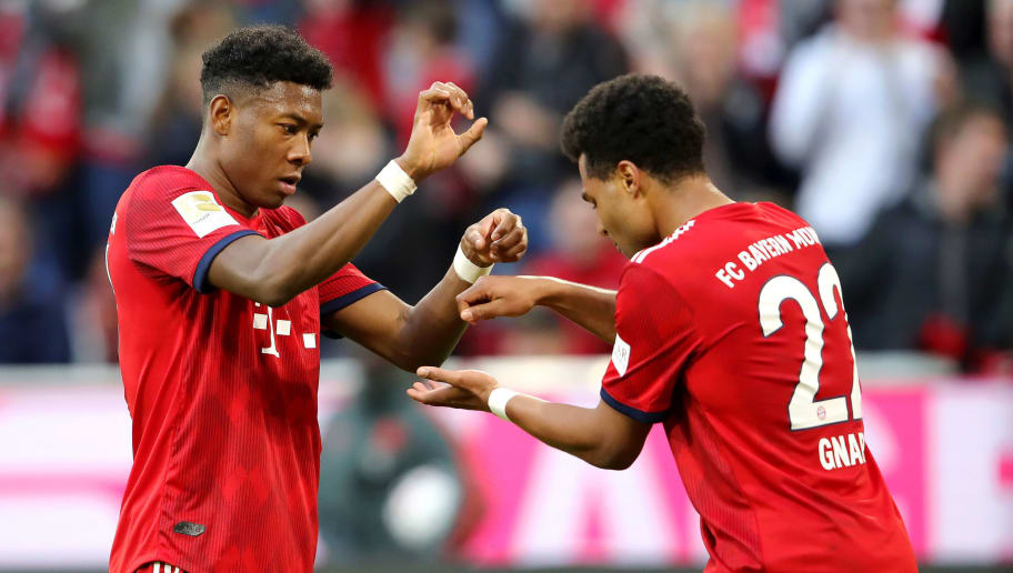 Serge Gnabry,David Alaba