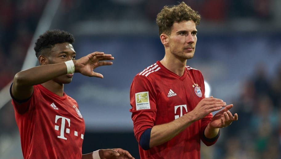Bayern Munich Welcome Back David Alaba & Leon Goretzka Ahead of Augsburg Clash