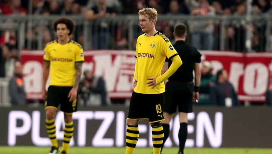 Julian Brandt Admits 'Everything Was Missing' in Borussia Dortmund's 4-0 Defeat at Bayern Munich