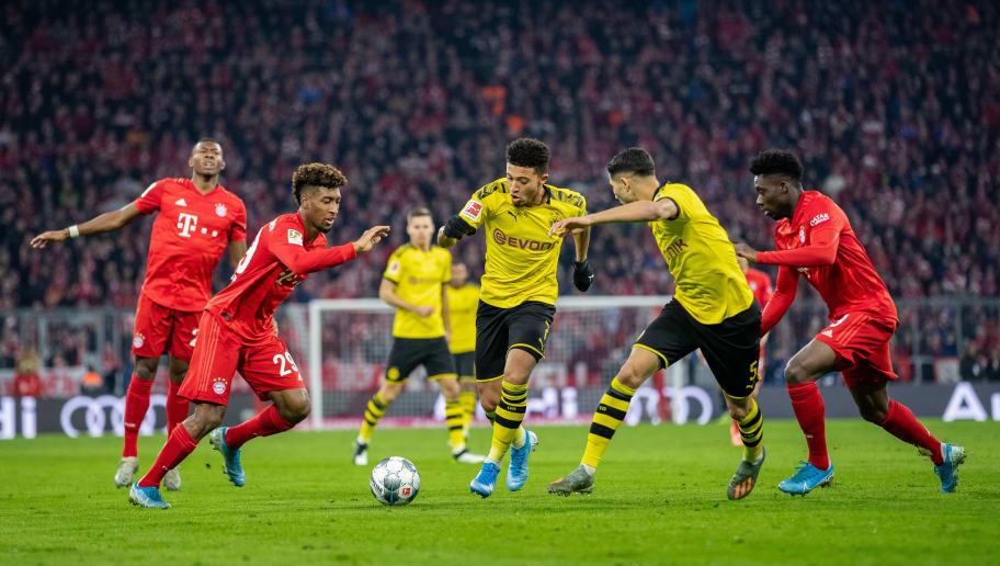 Bayern München Vs Dortmund 2021