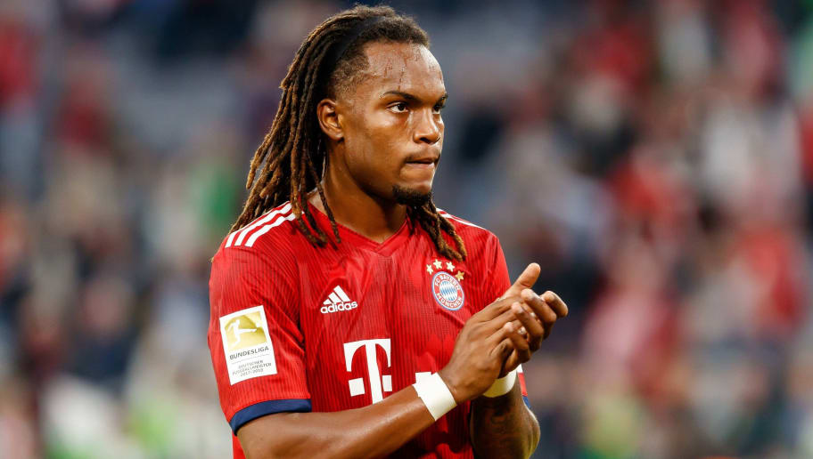 MUNICH, GERMANY - OCTOBER 06: Renato Sanches of Bayern Muenchen gestures during the Bundesliga match between FC Bayern Muenchen and Borussia Moenchengladbach at Allianz Arena on October 6, 2018 in Munich, Germany. (Photo by TF-Images/Getty Images)