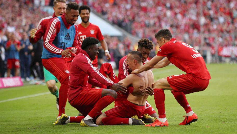 Franck Ribery,Kingsley Coman,Robert Lewandowski