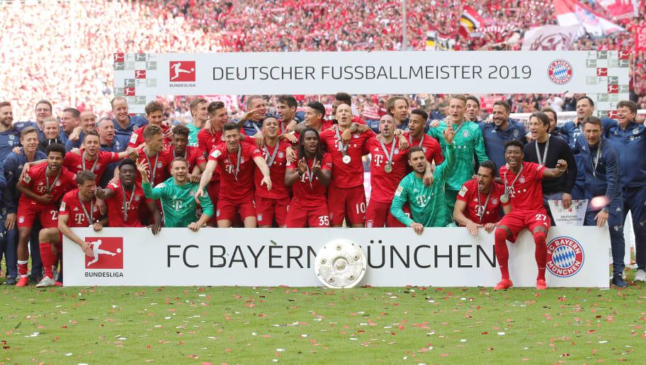 FC Bayern Muenchen v Eintracht Frankfurt - Bundesliga