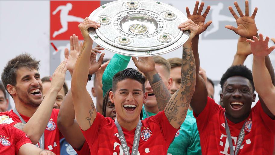 Bericht: James wird den FC Bayern verlassen
