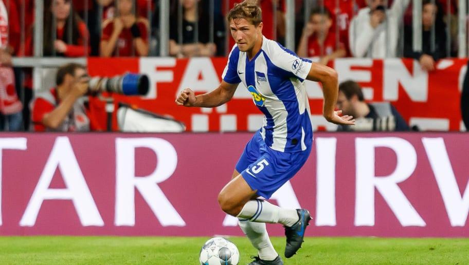 """Niklas Stark erklärt seine kuriose Fußverletzung beim DFB: """"Es war einfach dunkel"""""""