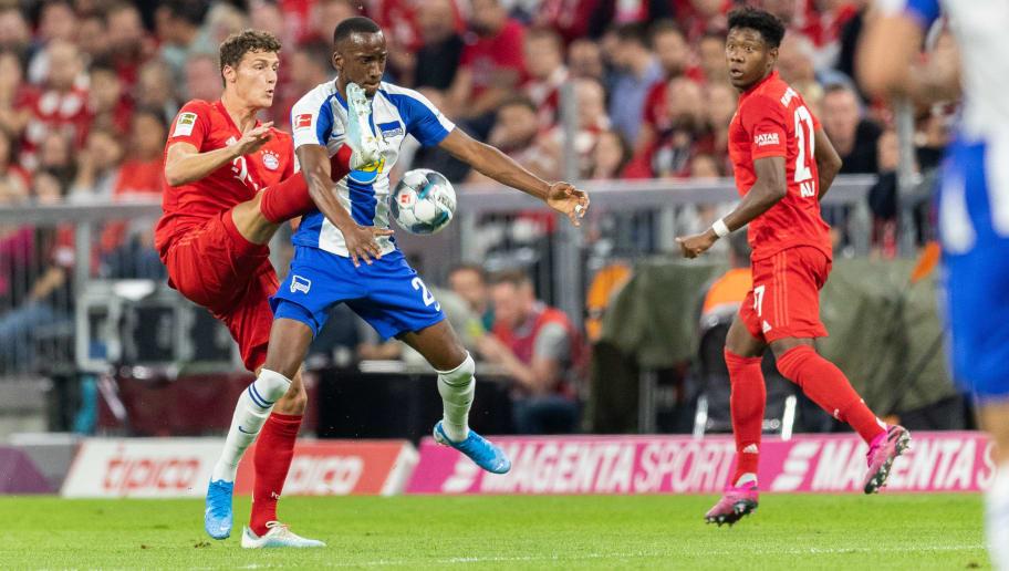 Hertha BSC - FC Bayern München   Die offiziellen Aufstellungen