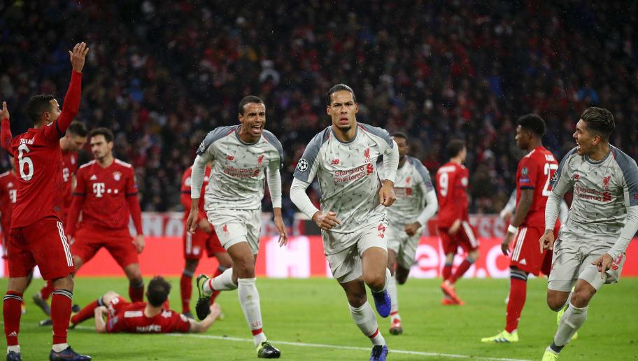Bayern Liverpool Detail: Bayern Munchen 1-3 Liverpool