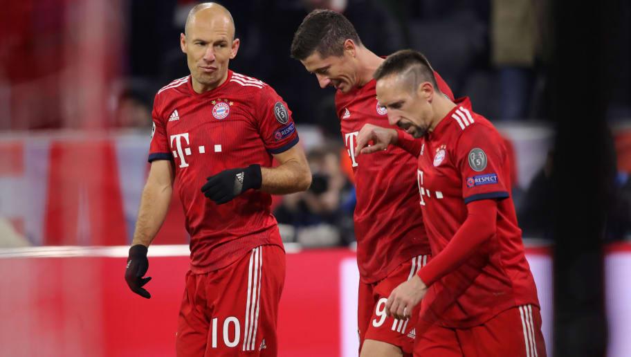 Robert Lewandowski,Arjen Robben,Franck Ribery
