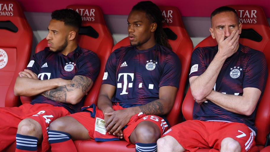 Franck Ribery,Renato Sanches,Corentin Tolisso