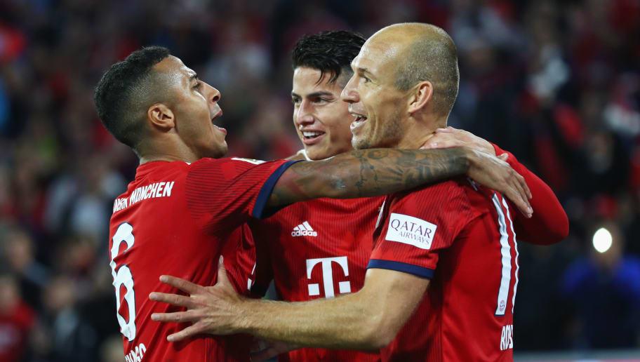 Arjen Robben,James Rodriguez,Thiago Alcantara