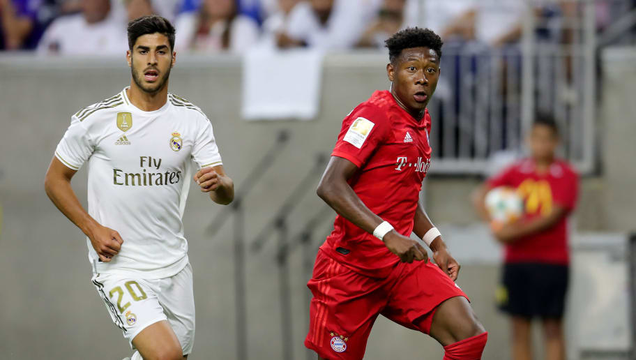 David Alaba,Marco Asensio