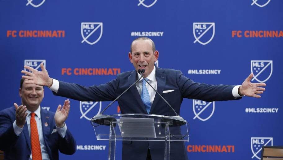 Don Garber,Jeff Berding