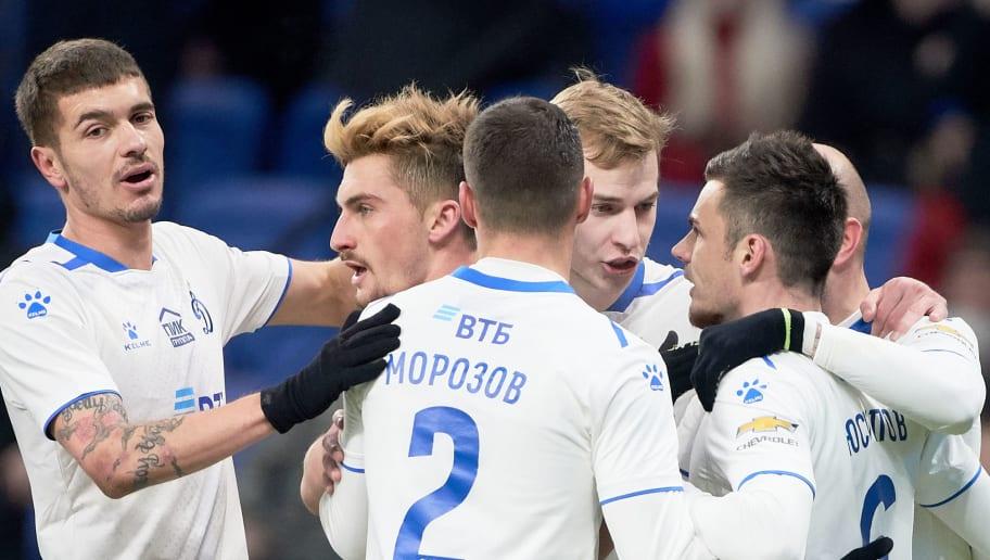 FC Dynamo Moscow vs FC Rostov Rostov-on-Don - Russian Premier League