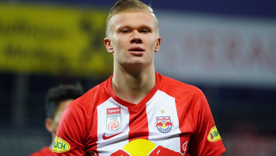 Red Bull Salzburg Confirm Erling Haaland Transfer Talks as Manchester United Links Continue to Grow