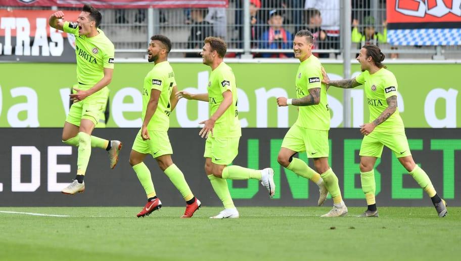 FC Ingolstadt v Wehen Wiesbaden - 2. Bundesliga Playoff Leg Two