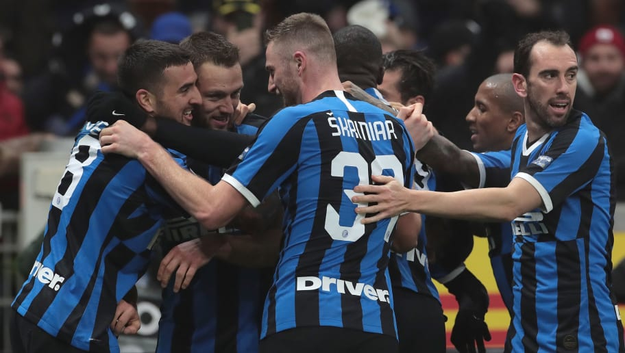 Inter 4 2 Ac Milan Report Ratings Reaction As Nerazzurri Stage Epic Comeback In Derby Classic 90min