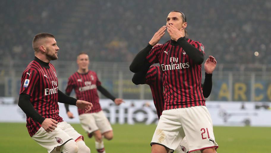 Zlatan Ibrahimovic,Ante Rebic