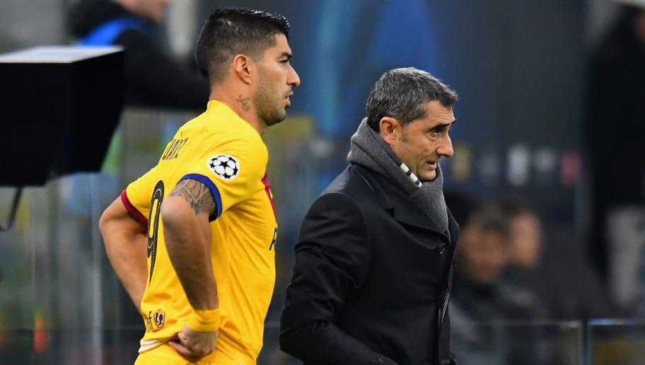 Luis Suárez,Ernesto Valverde