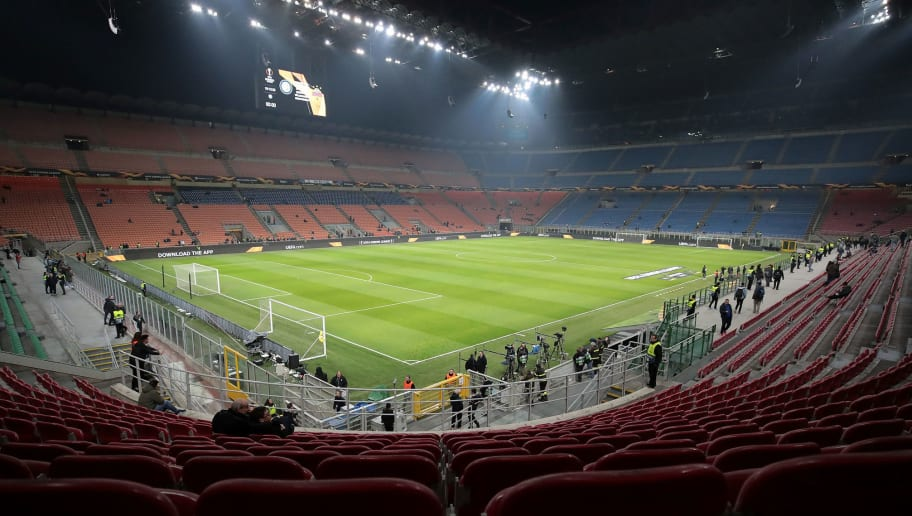 FC Internazionale v SK Rapid Wien - UEFA Europa League Round of 32: Second Leg