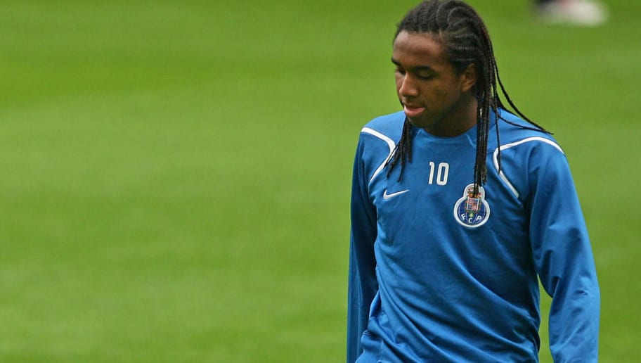 FC Porto striker Anderson trains 16 Octo