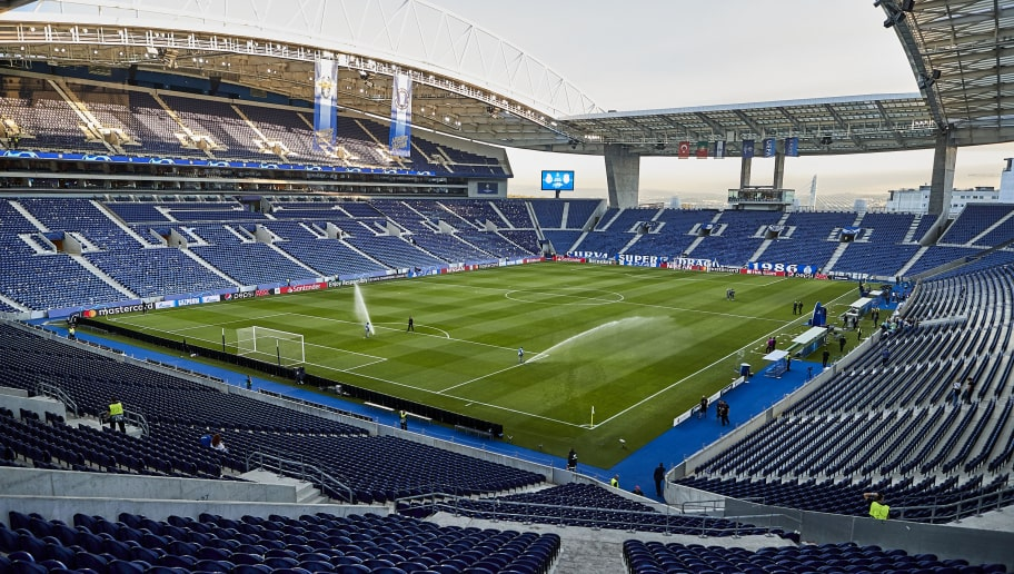 PORTO, PORTUGAL - OCTOBER 03:  General view of Estadio do Dragao before the Group D match of the UEFA Champions League between FC Porto and Galatasaray at Estadio do Dragao on October 3, 2018 in Porto, Portugal.  (Photo by Quality Sport Images/Getty Images)