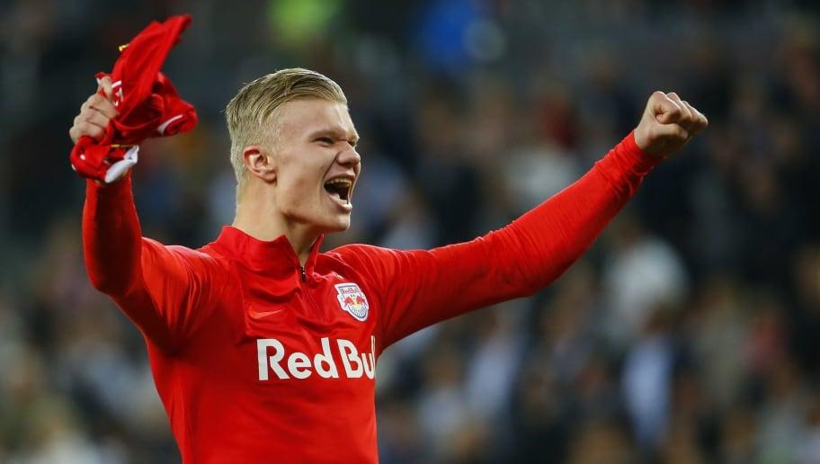 Rb Leipzig Confirm They Have Made Bid For Salzburg Striker Erling Haaland 90min