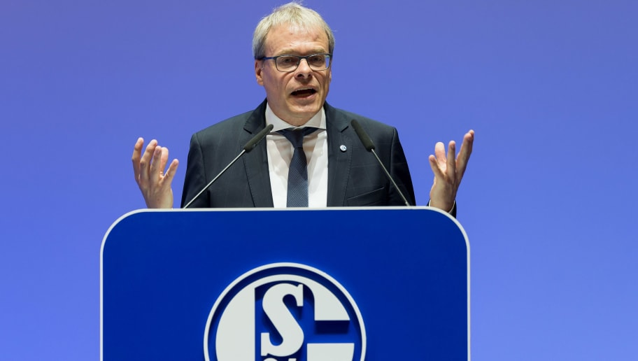 GELSENKIRCHEN, GERMANY - JUNE 03: Peter Peters during the FC Schalke 04 general assembly at Veltins Arena on June 3, 2018 in Gelsenkirchen, Germany. (Photo by TF-Images/Getty Images)