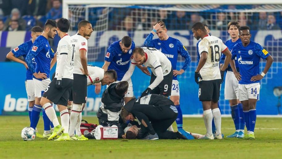 Nach üblem Nübel-Tritt: Frankfurt gibt Diagnose bei Gacinovic bekannt