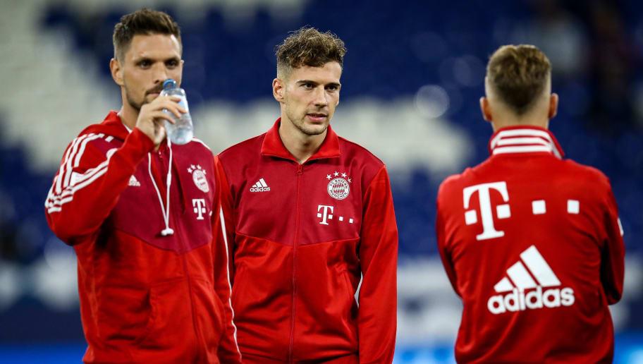pretty nice 5d929 94461 Bayern Star Leon Goretzka Suffers Ankle Injury as Fan ...