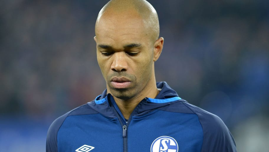 GELSENKIRCHEN, GERMANY - DECEMBER 11: Naldo of Schalke looks on during the UEFA Champions League Group D match between FC Schalke 04 and FC Lokomotiv Moscow at Veltins-Arena on December 11, 2018 in Gelsenkirchen, Germany. (Photo by TF-Images/TF-Images via Getty Images)