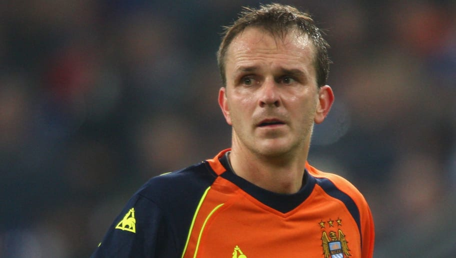 GELSENKIRCHEN, GERMANY - NOVEMBER 27:  Dieter Hamann of Manchester City is seen during the UEFA Cup Group A match between FC Schalke 04 and Manchester City at the Veltins Arena on November 27, 2008 in Gelsenkirchen, Germany.  (Photo by Christof Koepsel/Bongarts/Getty Images)