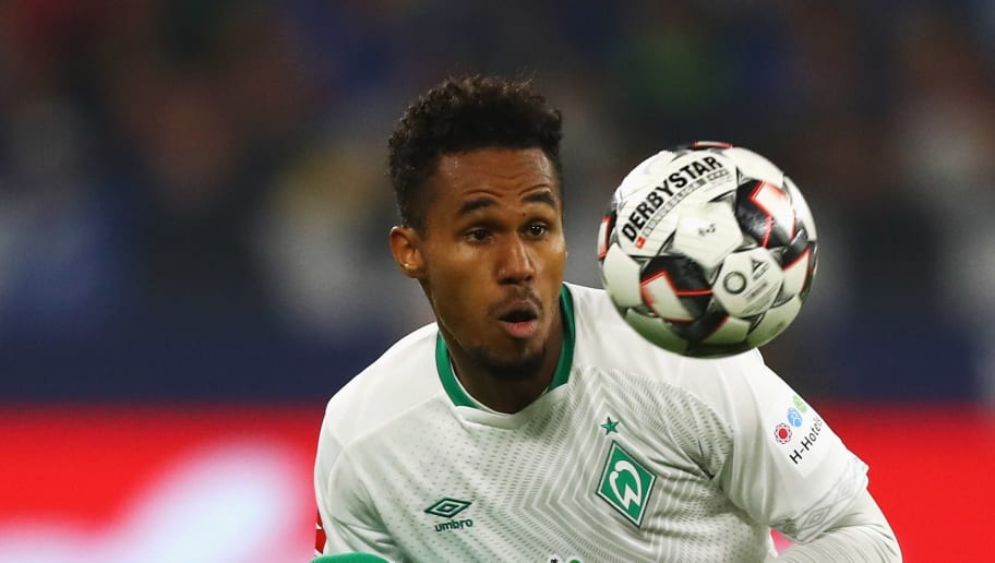 GELSENKIRCHEN, GERMANY - OCTOBER 20:  Theodor Gebre Selassie of Werder Bremen in action during the Bundesliga match between FC Schalke 04 and SV Werder Bremen at Veltins-Arena on October 20, 2018 in Gelsenkirchen, Germany.  (Photo by Dean Mouhtaropoulos/Bongarts/Getty Images)