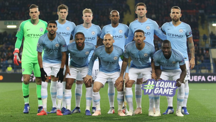 Manchester City Possible Line Up