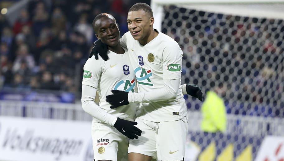 Moussa Diaby,Kylian Mbappe